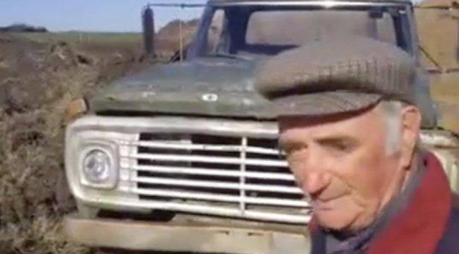 Megható: temetéssel búcsúzútt teherautójától