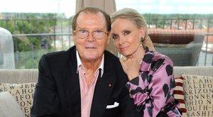 Negyedszerre lelte meg igazi társát Roger Moore