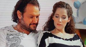 Eddig titkolta terhespocakját a magyar színésznő