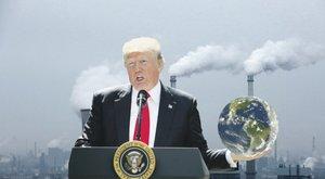 A pusztulás felé löki a világot Donald Trump