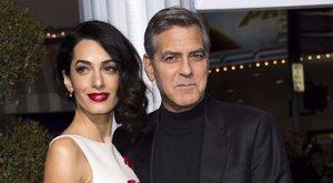 Megszülettek Clooneyék ikrei