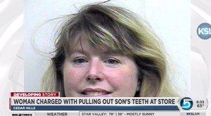Kihúzta fia két fogát az áruház mosdójában, bíróság elé került