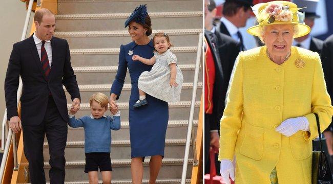 II. Erzsébet a mai napig szekálja Katalin hercegnét