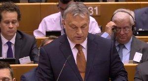 Orbán Viktor: Nem engedhetünk Brüsszelnek
