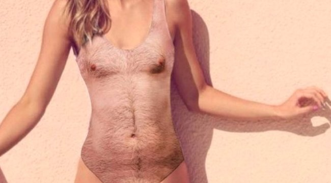 A legszebb női test is undorító lesz ebben a fürdőruhában
