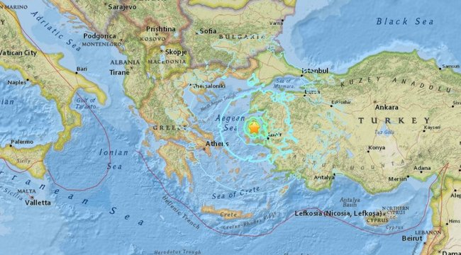 """""""Azt hittem, meg fogok halni"""" – erős földrengés rázta meg a kedvelt tengerpartot"""