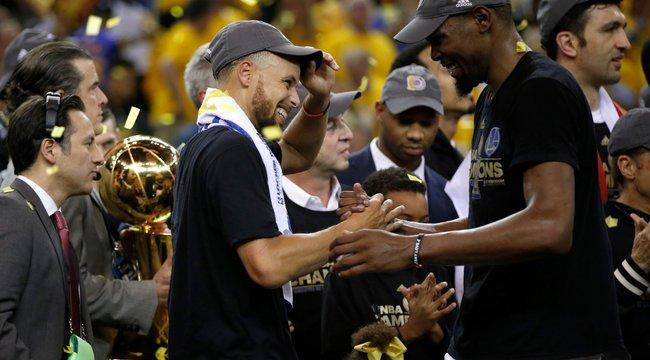 Eldöntötték: A Golden State Warriors az NBA idei győztese