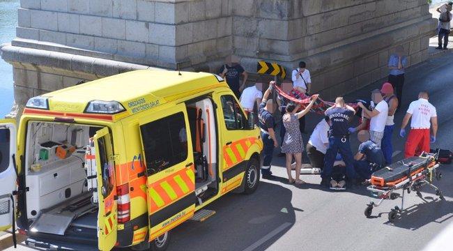 Autó elé vetette magát egy nő egy szegedi hídról