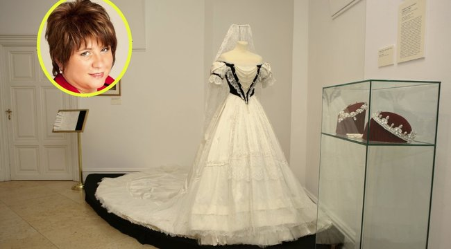 Tizennégy korhű Sissi-ruhát varrt Mónika