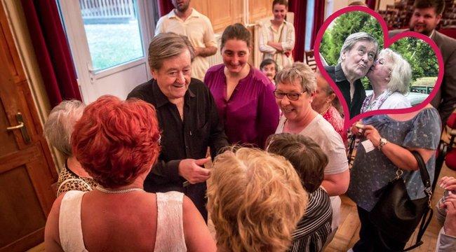 Koós 80: felesége és közönsége ünnepli