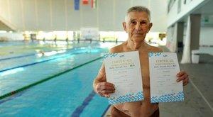 97 évesen indul az úszó-vb-n Béla bácsi