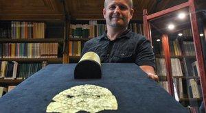 Háromezer éves lábvértet talált Róbert