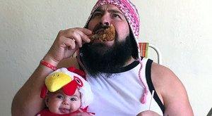 Felejthetetlenné tett apa-lánya pillanatokat készít Solomon – képek