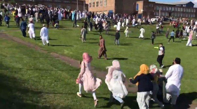 Ismét muszlimok közé hajtottak