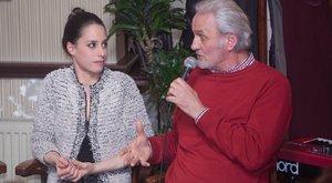Gólyahír: nagy az öröm a Trokán családban