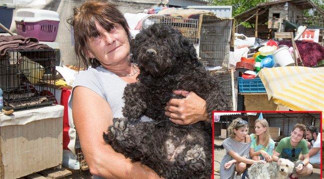 Saját házát is eladta a kutyákért Erika –a Barátok közt sztárjai segítették