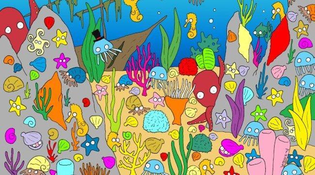 Megtalálja a képen Brad Pittet? És a halat?
