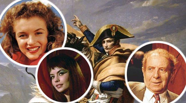 Mi a közös Marilyn Monroe-ban és Napóleonban?