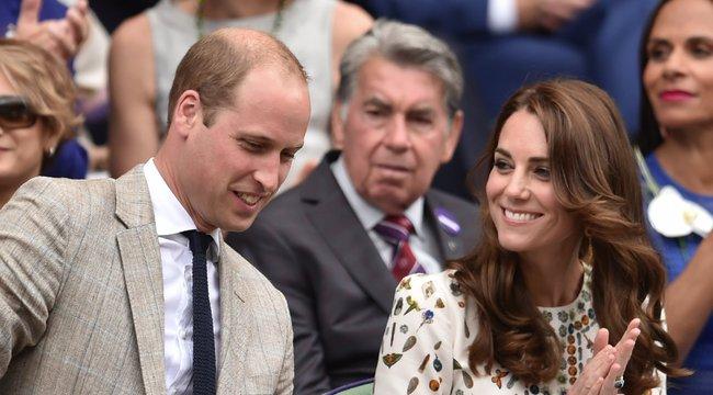Katalin hercegné megőrül a teniszért