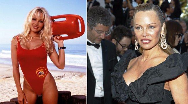 Pamela Anderson: Szeretem és gyűlölöm a melleimet