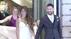 Kínos, kit nem hívott meg Messi az esküvőjére - fotók