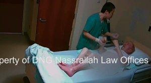 Többször megütötte az idős, demens beteget az ápoló, videó bukatta le
