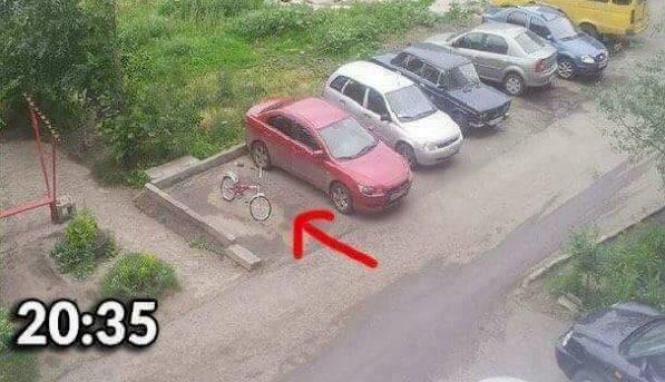 Orosz példa: így jár, aki rossz helyen parkol! - fotók