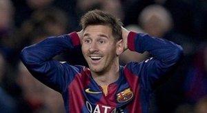 Elásta magát Messi
