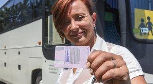 1,5 milliós jogosítványa van Zsuzsának