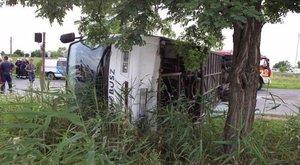 Ceglédi buszbaleset: részeg volt a sofőr