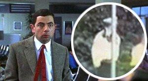 Kabaré: Mr. Bean-módra fejelt le egy oszlopot a rend őre