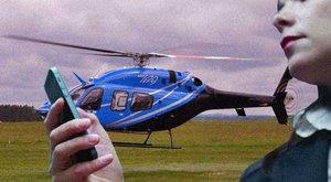A közösségi taxizás a múlté: rendeljen helikoptert, ha siet!