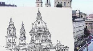 Dideregve rajzolta le a bazilikát az ausztrál