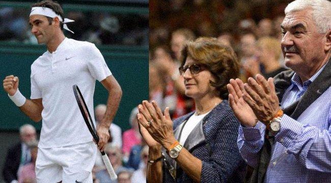 Federer papa idegesíti a nejét
