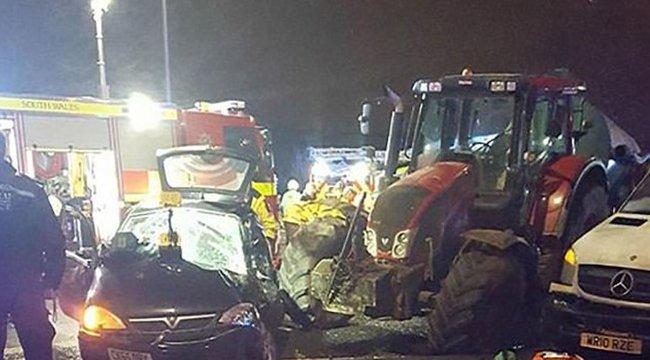 Napi gyáva: ámokfutást rendezett a traktorral, majd rákente a barátnőjére
