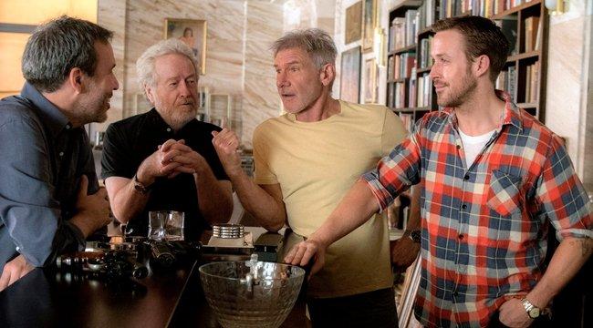 Harrison Ford behúzott Ryan Goslingnak