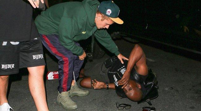 Fotóst gázolt Justin Bieber