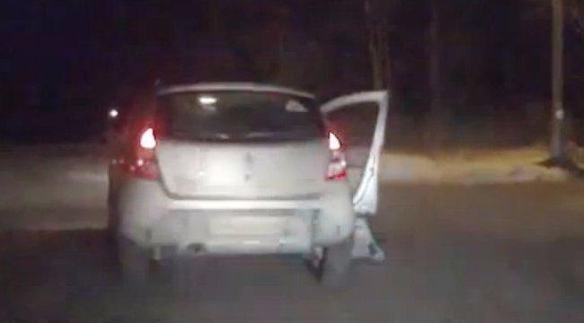 A gyerekkel együtt lopta el a kocsit a drogos férfi Pápán