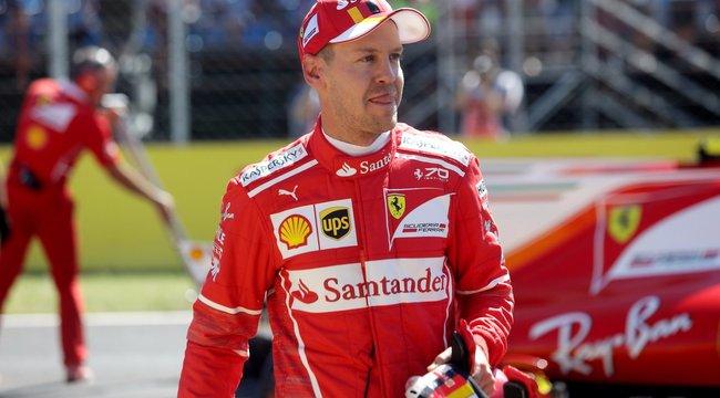 Vettelé az első rajtkocka a Hungaroringen