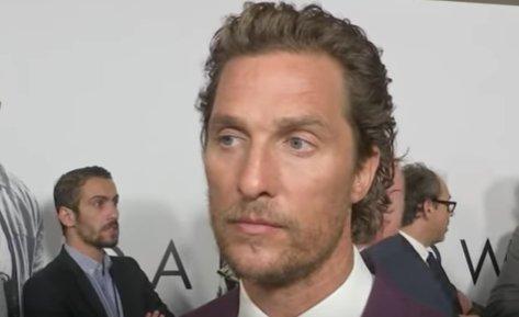 Matthew McConaughey avörös szőnyegen tudta meg, hogy kollégájameghalt