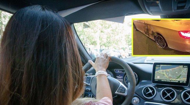Letarolta Melinda autóját a cserbenhagyó