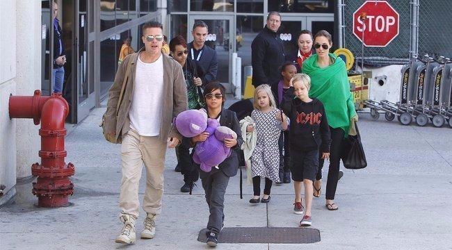 Mégsem válik Angelina Jolie és Brad Pitt