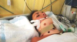 Merevítőt fúrtak a Bulgáriából hazaszállított, kómában fekvő Vanessza koponyájába