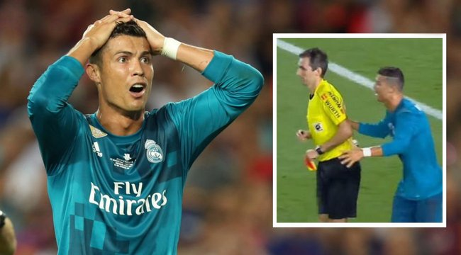 Ötmeccses eltiltást kapott Cristiano Ronaldo