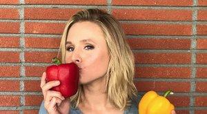 Szomorú: Kristen Bell unja a saját főztjét