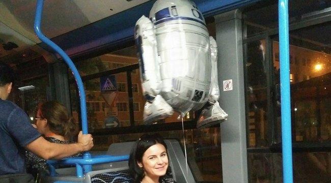 Star Wars-lufival utazott Kunhalmi Ágnes, ami csak a félig az övé