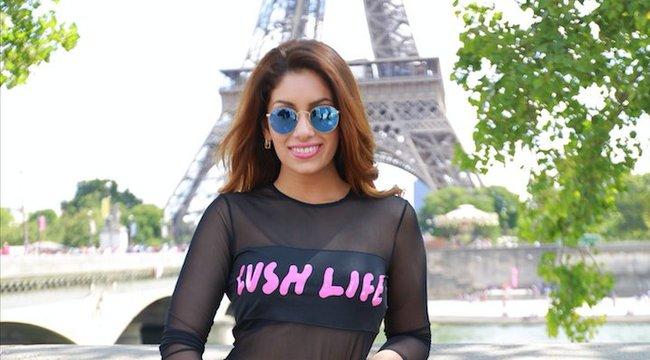 Párizst kapta szülinapjára Radics Gigi