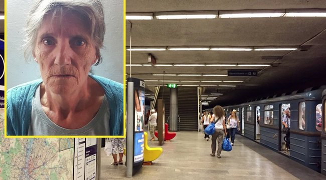 Metró alá szorult Erzsébet lába a megállóban