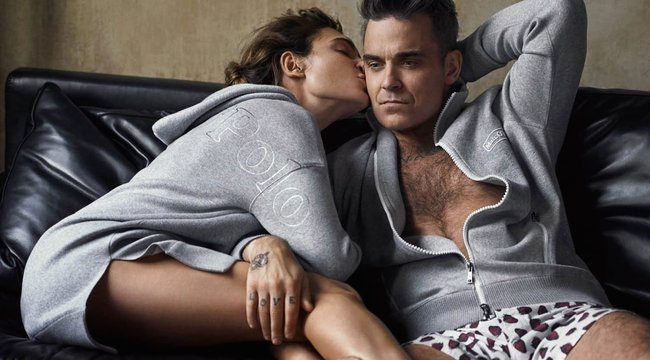 Felesége infarktusnak hitte Robbie Williams pánikrohamát