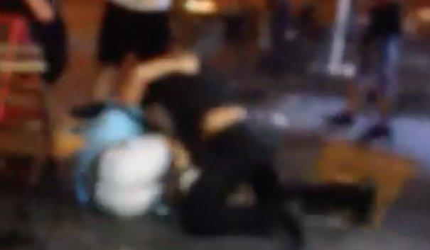 Hatalmas hajnali bunyó az Arany János utcában - videóval